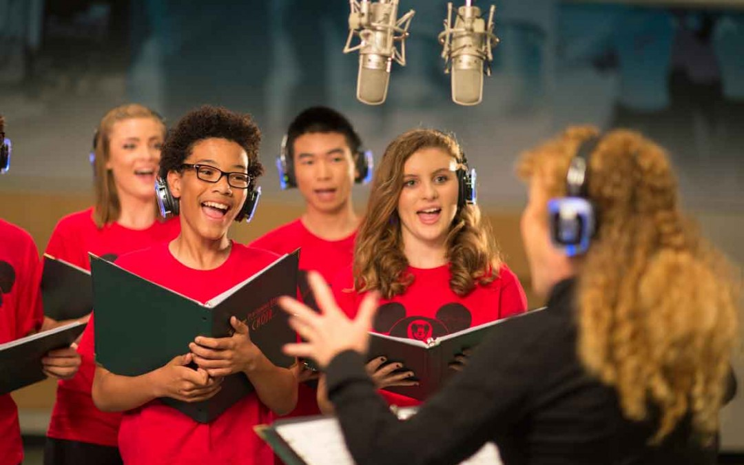 Walt Disney Youth Singing
